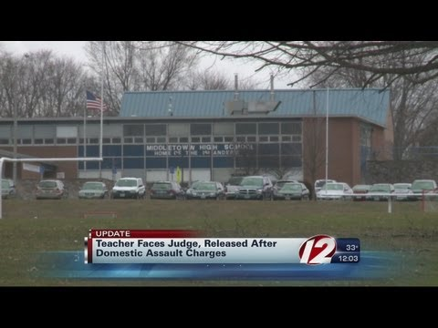 Middletown teacher arrested