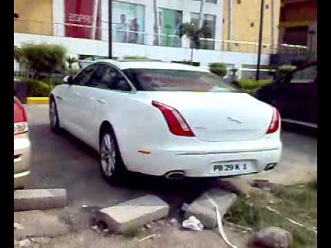 Jaguar Xf L Xj L In Ludhiana Punjab India Mp4 Youtube