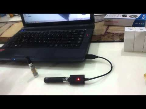 How to charge battert E-cigarettes.mp4