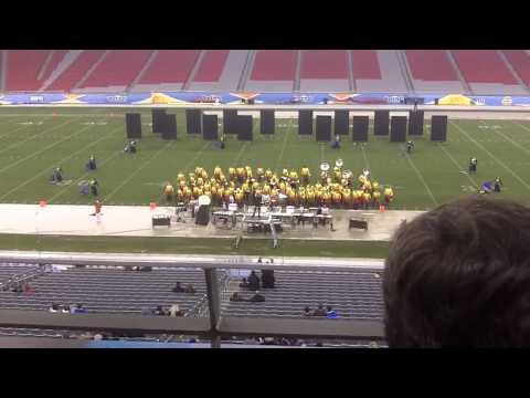 Casa Grande High School Marching Band - Fiesta Bowl Band Championship 2012