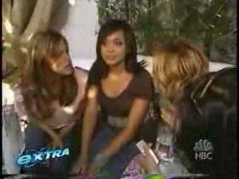 Jessica Alba Eva Mendes Eva Longoria at Point de Vue salon Video