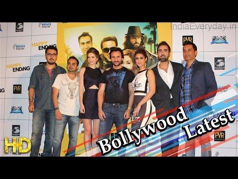 Saif Ali Khan Govinda Ileana Kalki at audio launch of Happy Ending