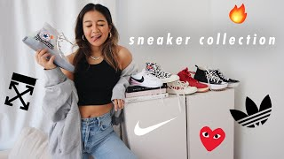 MY SNEAKER COLLECTION 🔥 | nike, converse, off-white & more