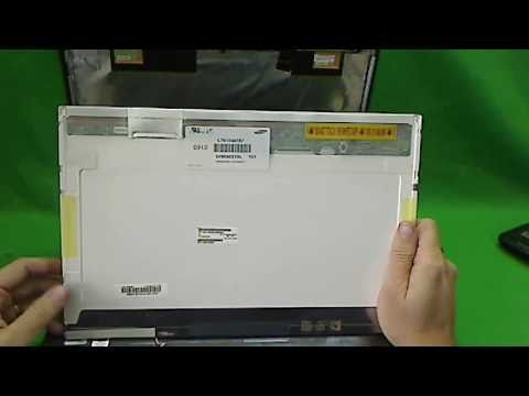 Toshiba Satellite A305 Laptop Screen Replacement Procedure