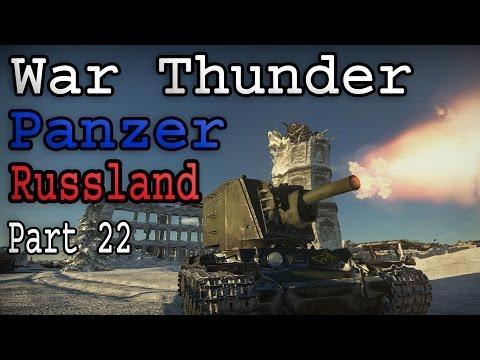 Let's Play War Thunder - Technik Probleme vom feinsten und KV-1 ZIS-5 - Panzer Folge 108 (deutsch)