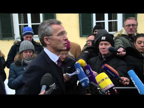 NATO Secretary General - Doorstep statement at CSU Conference, 08 JAN 2015
