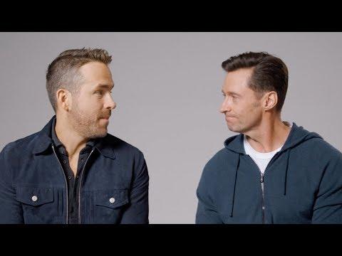 El pique en redes sociales entre Hugh Jackman y Ryan Reynolds