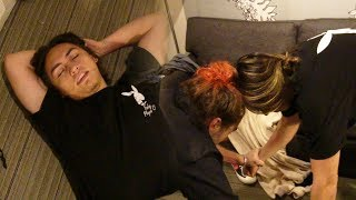 Download Lagu ALMOST KICKED OUT OF HOTEL! LANDON CUBE THROWS HANDS!! (CUFBOYS FIGHTING) Gratis STAFABAND