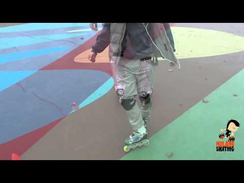 Milanoskating Freestyle: Passeggiata indietro