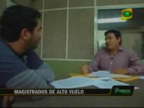 Fracisco Tavara Cordova y Jorge Solis Espinoza,  Magistrados Supremos de Alto Vuelo Parte II