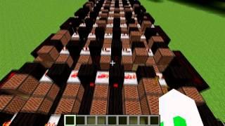 Star Wars Cantina Song in Minecraft Noteblocks