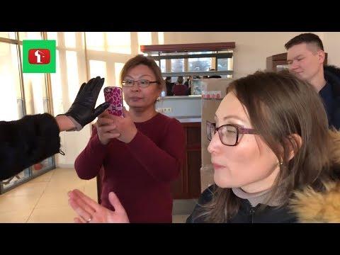 Не снимай! Зову Полицию ! Потасовка в магазине Астана Казахстан Закон о защите прав потребителей РК