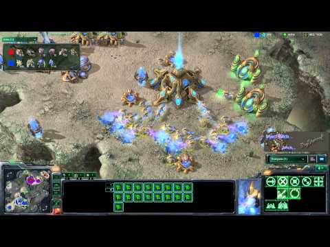 SC2 HD #120 PsY[Z] vs Vnrock[P] Video