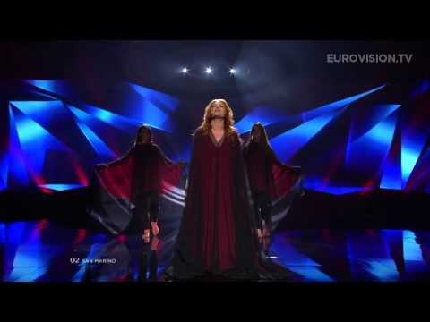 Valentina Monetta - Crisalide (Vola) (San Marino) - LIVE - 2013 Semi-Final (2)
