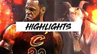 LeBron James Highlights WELCOME TO LOS ANGELES!| Best 17-18 Plays