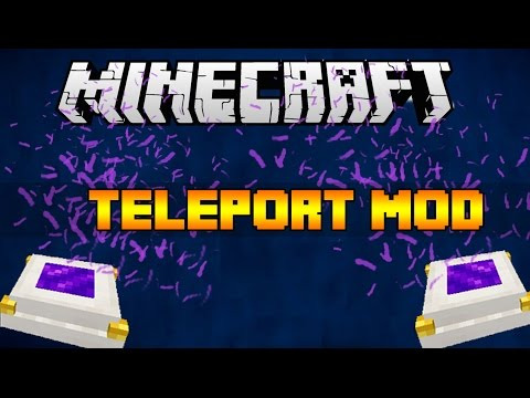 SIMPLE TELEPORTER MOD   Minecraft 1.9 Mod Showcase Review & Download