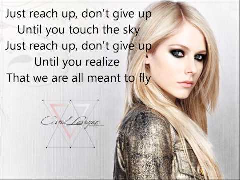 Avril Lavigne - Fly For Special Olympics + Lyrics