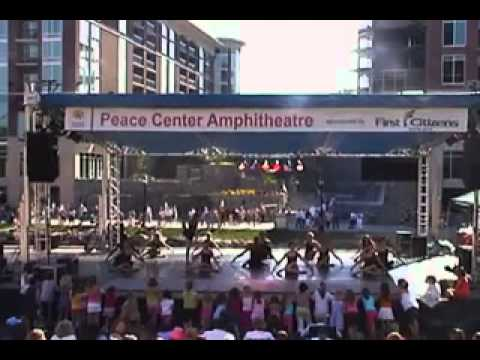 CBT perfoming at Artisphere festival in Greenville SC
