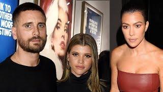 Kourtney Kardashian HAS DINNER With Sofia Richie & Scott Disick!