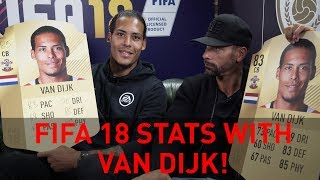 Discussing Virgil Van Dijk's FIFA 18 stats