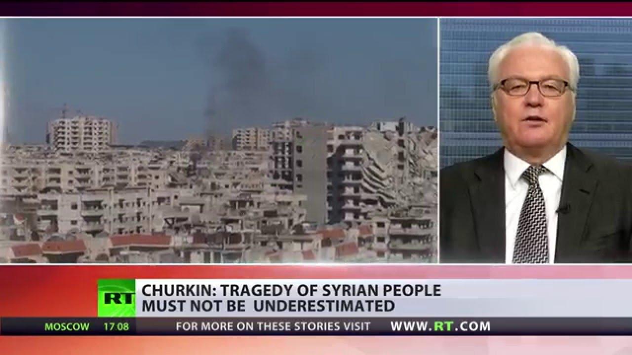 'Let's not underestimate tragedy of Syrian civilians' - Russian UN envoy