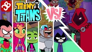 Teeny Titans Team VS The Hooded Hood - iOS / Android - Gameplay Video