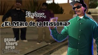 ¿Era Ryder un Antagonista? | Análisis a Lance \