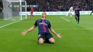 Zlatans magiska minuter - slår PSG:s målrekord med två straffar - TV4 Sport