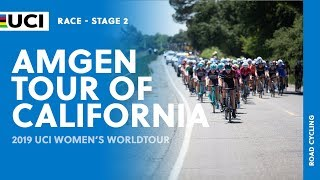 2019 UCI Women's WorldTour – AMGEN Tour of California  – Highlights stage 2