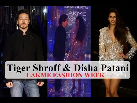 WATCH! Disha Patani's CHEMISTRY With Boyfriend Tiger Shroff | LFW 2017