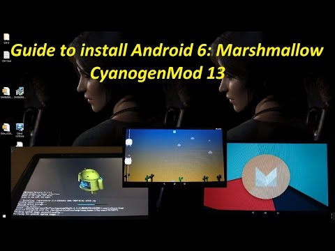 How to install Android 6.0 Marshmallow - CyanogenMod 13 on Samsung Galaxy Tab 2