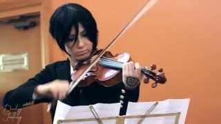 Sebastian Michaelis (Cosplay) Nan Desu Kan 2014 - Vivaldi - Summer