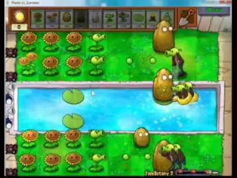 Game   Plants vs Zombies chiến thuật đánh ZomBotany 2   Plants vs Zombies chien thuat danh ZomBotany 2