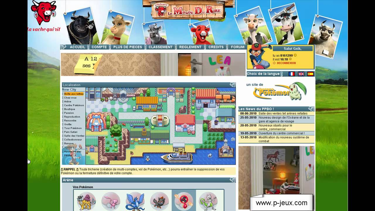 Jeu pokemon en ligne gratuit youtube for Planificateur en ligne gratuit
