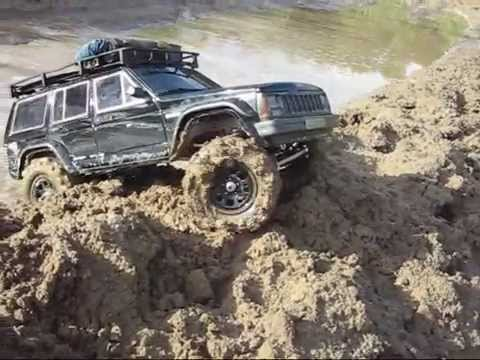 JEEP XJ RC CHEROKIEE scaleoffroad.de Video