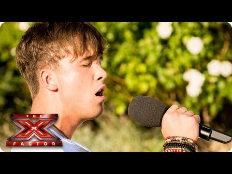 Sam Callahan Sings We Are Young By Fun -- Judges Houses -- The X Factor 2013 video