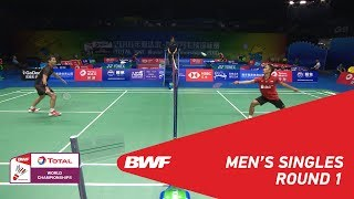MS | Suppanyu AVIHINGSANON (THA) vs Anthony Sinisuka GINTING (INA) [12] | BWF 2018