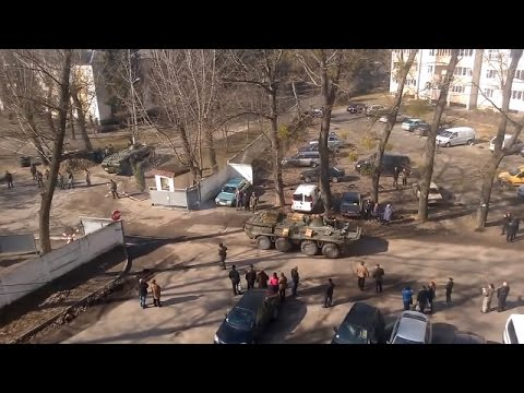 Ukraine War - Ukrainian troops move toward the border of Crimea and Ukraine mainland
