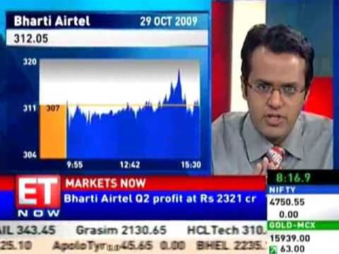 Bharti Airtel Q2 net up 13% at Rs 2321 cr