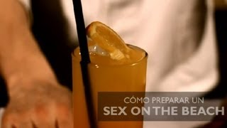 Como Preparar un Sex on the Beach : Los Cocteles Mas Populares