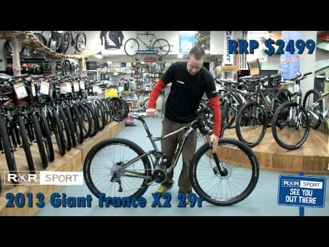 2013 Giant Trance X 29er 2 Mountain Bike Review