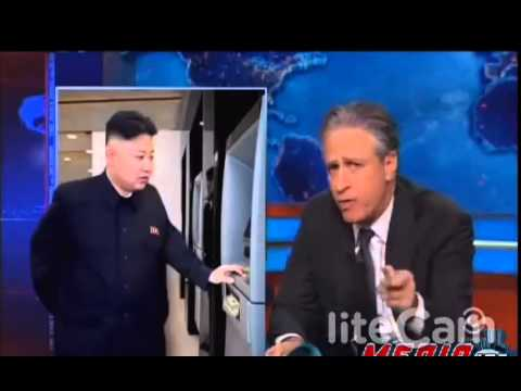 Jon Stewart Mocks N. Korea Sanctions, Warns