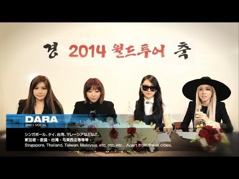 2ne1 - 2014 World Tour Official Announcement video