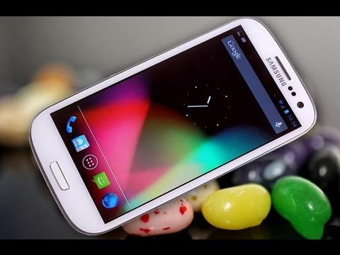 Samsung Galaxy S3 Jelly Bean Update AT&T