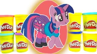 Dev MLP Twilight Sparkle Sürpriz Yumurtası - #SYTV Play Doh My Little Pony Dev Sürpriz Yumurtası