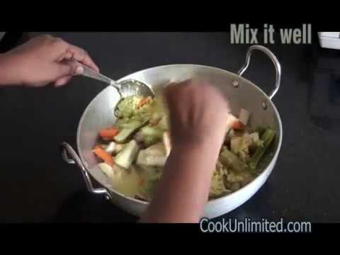 Avial / Mix Vegetable Recipe – Indian dish