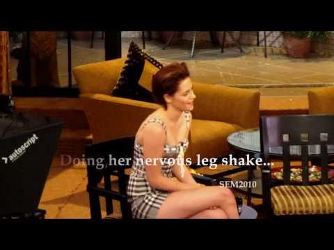 Kristen Stewart on Regis & Kelly (October 19, 2010) - Fan Experience [Version 2]