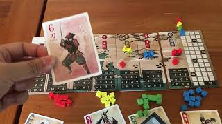 Board Game Reviews Ep #39: JORAKU