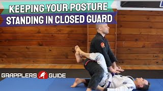 Download Lagu BJJ Concepts: Keeping Your Posture When Standing Up In Closed Guard by Jason Scully Gratis STAFABAND