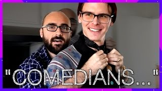 """Comedians"" on Hoverboards Getting Chicken McNuggets - Michael (Vsauce)"